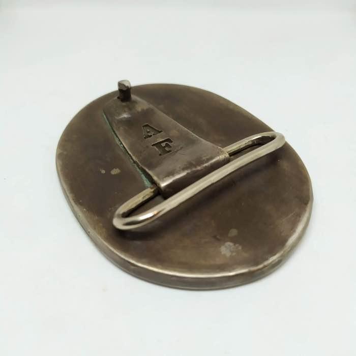 Handmade Buckle Nº2 solid silver
