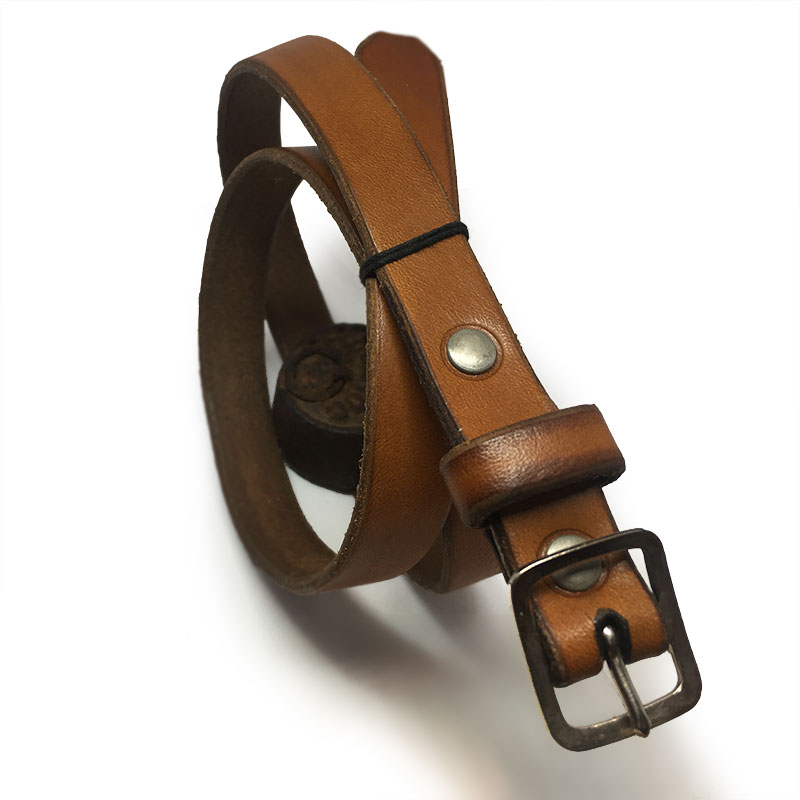 XS Tan Kids Belt