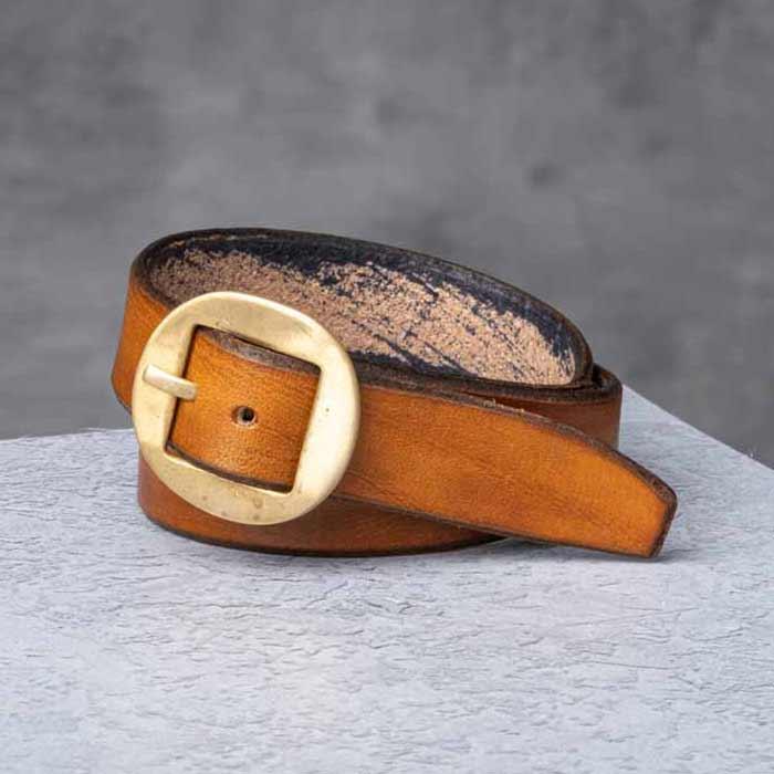 af buckle Nº12 + fine leather bracelet strap