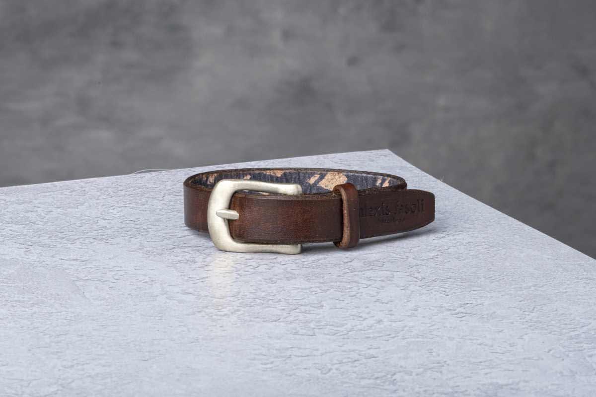 AF Buckle Nº13 + fine leather wrist strap