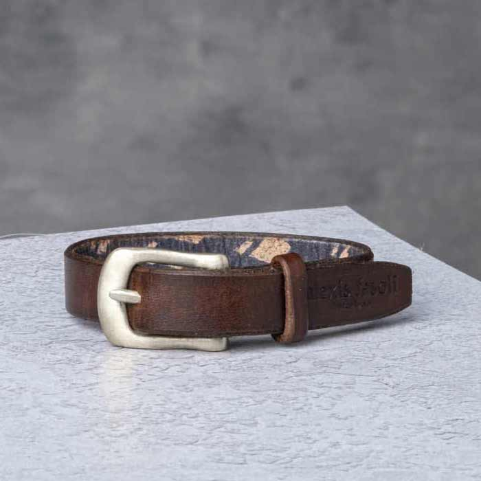AF Buckle Nº13 + fine leather wrist strap